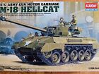 Academy 1:35 M-18 Hellcat U.S. Army Tank Model Kit