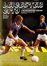 Leicester v Manchester United - Division 1 - 1980/81