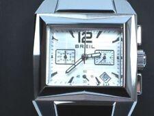 Relojes de pulsera Chrono de acero inoxidable plata
