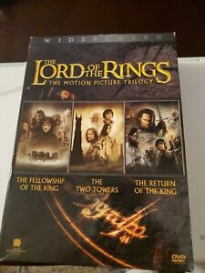Lord of the Rings Trilogy (Excellent Condition 6 DVD Disc Lot) + Free Shipping