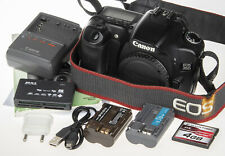 Canon Eos 30D Digital Slr Camera with 2 batteries, Usb cable, 4Gb Cf, card readr