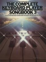 The Complete Keyboard Player Songbook 3 Sheet Music Book