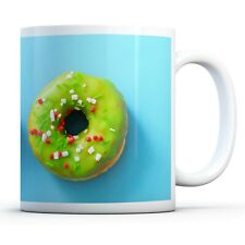 Iced Doughnuts - Drinks Mug Cup Kitchen Birthday Office Fun Gift #15631