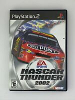 NASCAR Thunder 2002 - Playstation 2 PS2 Game - Complete & Tested