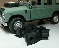 Land Rover Series 3 Dash Bulkhead Self Tapping plastic Lockut Nuts x10 RTC3745