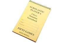 SCHOLASTIC Chess Scorebook (60 Moves/Game)