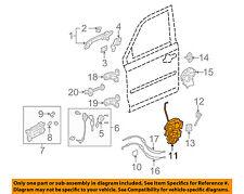 HONDA OEM 09-15 Pilot Front Door-Lock Actuator Motor 72150SZAA02