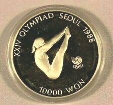 Seoul Olympics, South Korea, 10000 Won, 1988
