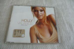 HOLLY VALANCE KISS KISS CD SINGLE PROMO.