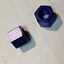 BRAND NEW KYOSHO, DBX, DST, ROCK FORCE 2.2, BLUE WHEEL NUTS x 2,  TR127