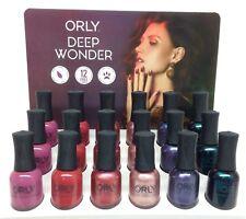 Orly Nail Lacquer - Deep Wonder Collection 6 pcs x 0.6oz/18ml 2000006-2000011