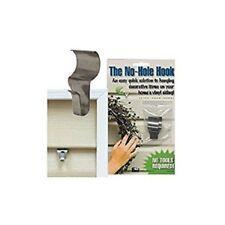 2 PK No-Hole Hooks Vinyl Siding Hangers - Low Profile-