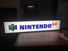RARE NINTENDO 64 36 INCH LIGHT UP DISPLAY VIDEO GAME RETAIL N64 WORKING SIGN