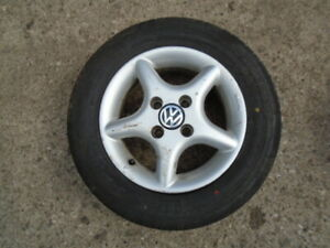 VW POLO 1994-1999 ALLOY WHEEL & TYRE 175 65R 13