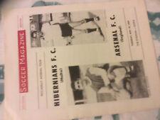 1969 HIBERNIANS MALTA V ARSENAL PICCADILLY TOUR
