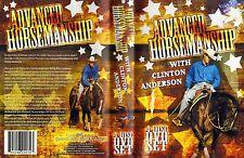 Clinton Anderson Advanced Horsemanship 4 Dvd's Set