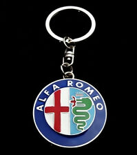 New Fashion Alfa Romeo logo keyring keychain 147 156 159 Giulietta GT GTV MiTo