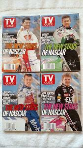 TV GUIDE The New Stars Of NASCAR 1999 Tony Stewart, Labonte, Burton, Mayfield
