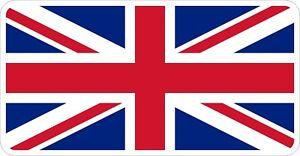 Union Jack British Flag Decal / Sticker