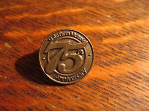 State Farm Mutual Lapel Pin - Vintage 1997 Automobile Insurance Company 75 Years