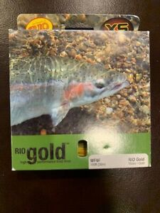 Rio Gold Fly Line WF6F - New in Box Old Stock