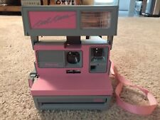 Vintage Polaroid Cool Cam 600 Instant Camera Pink & Gray