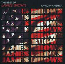 CD JAMES BROWN LIVING IN AMERICA NUOVO ORIGINALE SIGILLATO NEW ORIGINAL SEALED