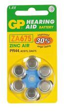GP Batteries Aria Batteria apparecchio acustico (pacco da 6) (tipo GPZA 10-D6) EV-GP781