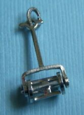 Vintage movable lawn mower sterling charm