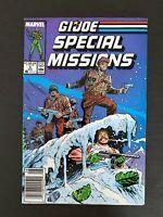 GI JOE SPECIAL MISSIONS #6 MARVEL COMICS 1987 VF+ NEWSSTAND