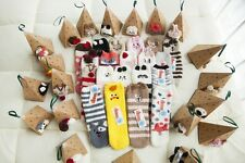 Cute Women Ladies Soft Warm Fluffy Bed Socks Lounge Slipper Gental Grip Animal