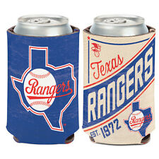 Texas Rangers Cooperstown Can Cooler 12 oz. Koozie
