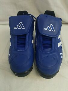Adidas 148138 Excelsior Womens Baseball Shoes Metal Cleats Blue White Various Sz