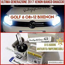 2 Lampadine XENON D1S VOLKSWAGEN GOLF 6 tdi gtd fari 6000K Luci VW R Line bixnon