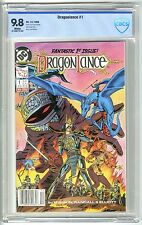 DC TSR DRAGONLANCE #1 1988 CBCS 9.8 NM/MT White Pgs TOP CENSUS NEWSSTAND NOT CGC
