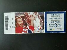 2006 Hockey Playoffs Ticket Stubs Montreal Canadiens YVAN COURNOYER