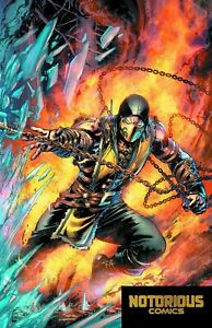 Mortal Kombat X #1 Scorpion Variant DC Comics 1st Print EXCELSIOR BIN +