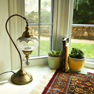 Handmade Table Lamp - Vintage Style