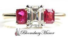 Tiffany & Co.. Emerald Fine Diamond Rings