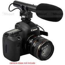 Camera MIC Stereo Microphone for Nikon D7100/D7000/D5100/D5300/D3300/D800/D750