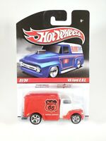 Hot Wheels Slick Rides '49 Ford COE Phillips 66 White/Red NEW NOC Real Riders