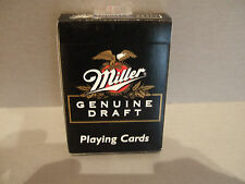 NEW SEALED DECK MILLER GENUINE DRAFT PLAYING CARDS BY HOYLE NO. 6910