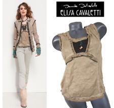 ELISA CAVALETTI BOTTEGA ITALIAN DESIGNER XL *Brand New/Tags* TOP BLOUSE T-SHIRT