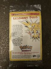Legendary Bird Promo#21 Moltres MintSealed Pokemon Card