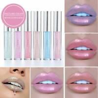 Waterproof Metallic Shimmer Matte Lipstick Long Lasting Glitter Lip Gloss Makeup