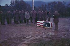US Soldier GI Funeral Chaplain R.T. DuBrau 8x10 World War II WW2 Photo