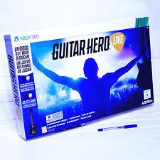 GUITAR HERO LIVE XBOX 360 Controller chitarra e Gioco NUOVO ITA ACTIVISION