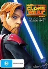 Star Wars THE CLONE WARS Animated: SEASON 5 : NEW DVD