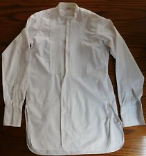 Horaces Marcella tunic shirt 14.5 mens dress wear Vintage 1920s collarless 2
