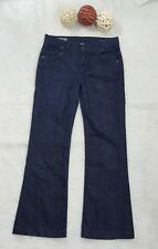 CITIZENS OF HUMANITY WOMEN'S BOOTCUT HIGH RISE WIDE LEG HUTTON #251 DARK JEANS